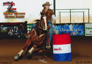 Winning Approach - Barrel Futurity Finalist